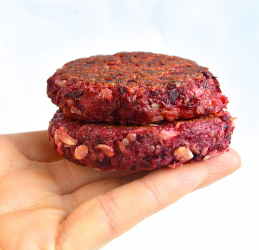 Beet Burger Patties